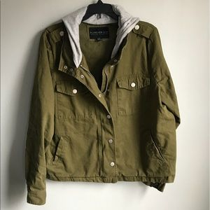 Army Green Forever 21 Jacket